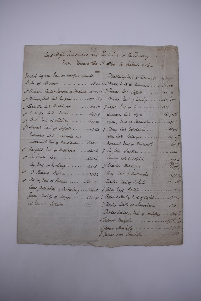 MANUSCRIPT MISCELLANY:collection of approx 18 items, manuscripts on paper, 17th to early 19th - Image 25 of 26