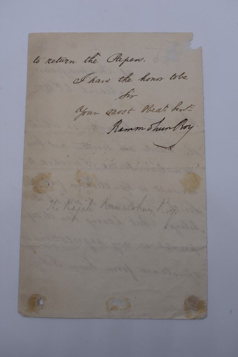 MANUSCRIPTS:collection of approx 15 items, 17th-early 19thc manuscripts, to include 2pp letter - Image 8 of 29