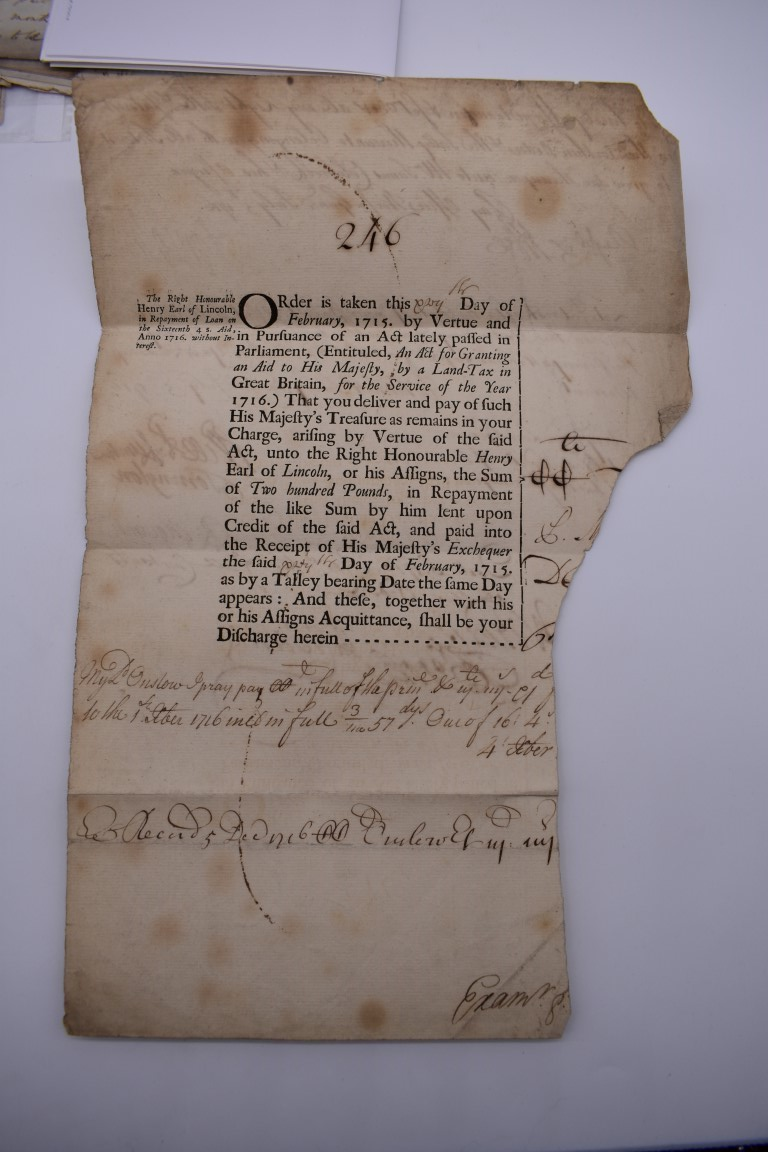MARITIME ACCOUNTS, MID 18th CENTURY: Dr Samuel Wallis Esq with James Dickson, statement of accounts, - Image 4 of 16
