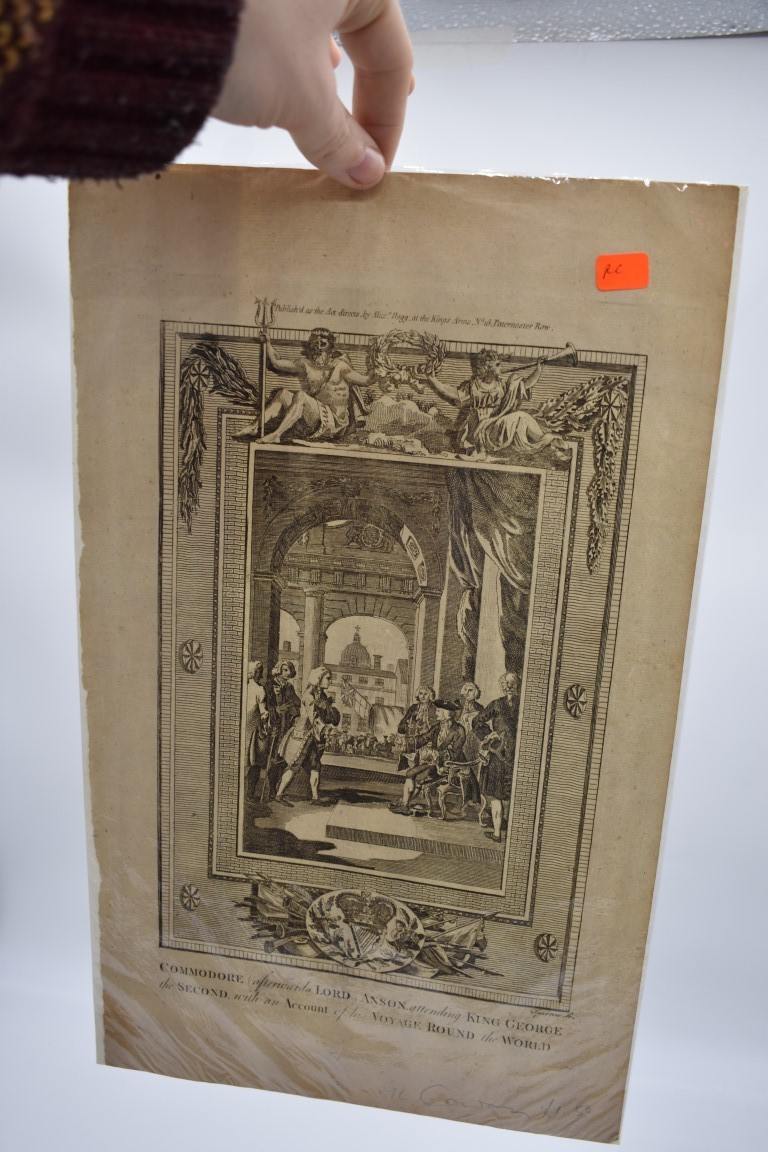 PRINTS, MAPS & ENGRAVINGS:collection of approx 70 prints, maps and engravings, largely 17th-19th - Image 22 of 30