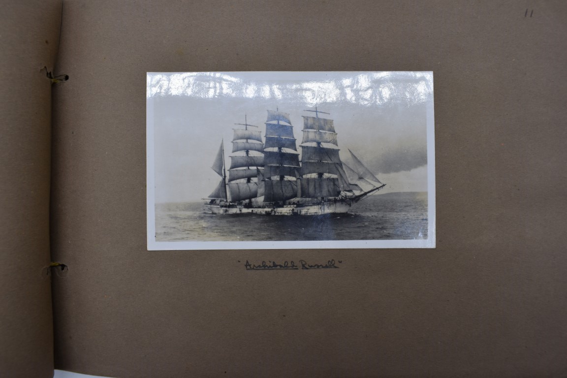 SCILLY ISLES:two early 20thc photographic snapshot albums of the Scilly Isles: together with mid- - Image 27 of 86