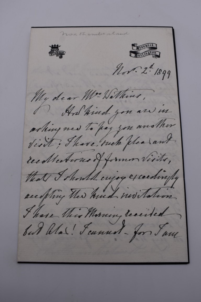 MANUSCRIPT MISCELLANY:a group of approx 27 items, largely 19thc ALS from nobility, churchmen, - Image 27 of 42
