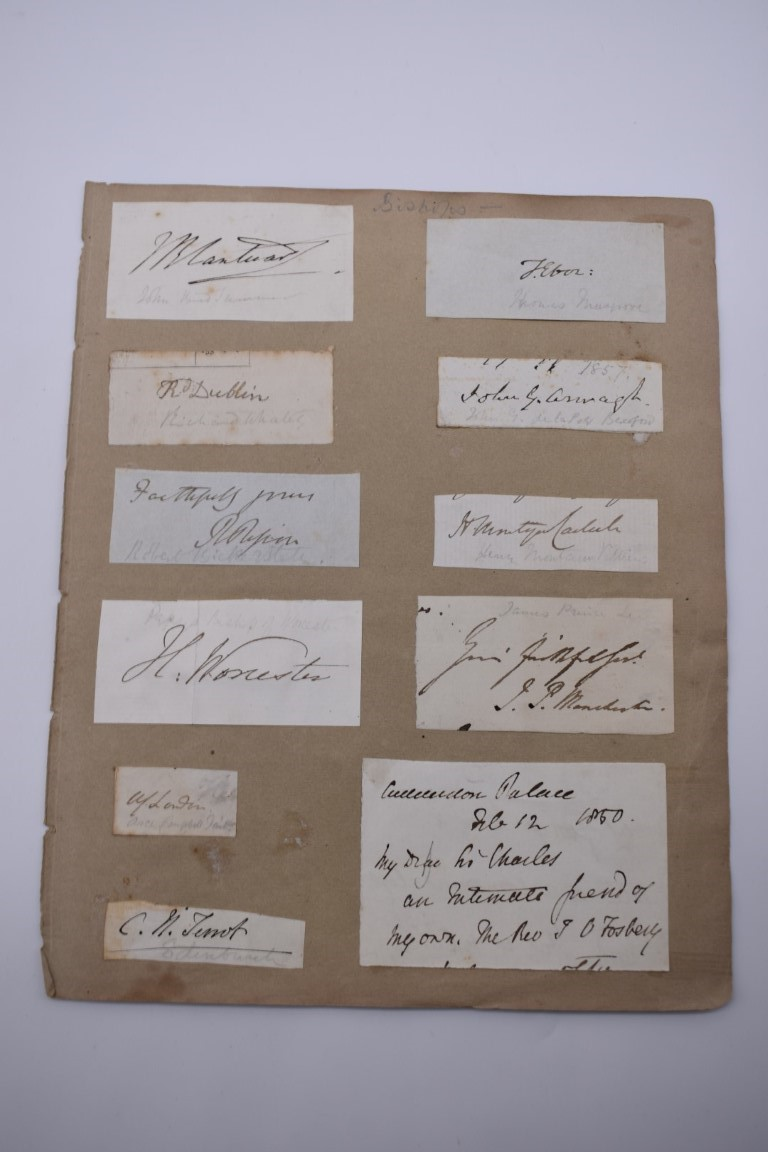 MANUSCRIPT MISCELLANY:collection of ALS and cut signatures, to include 2 side letter from conductor - Image 27 of 36