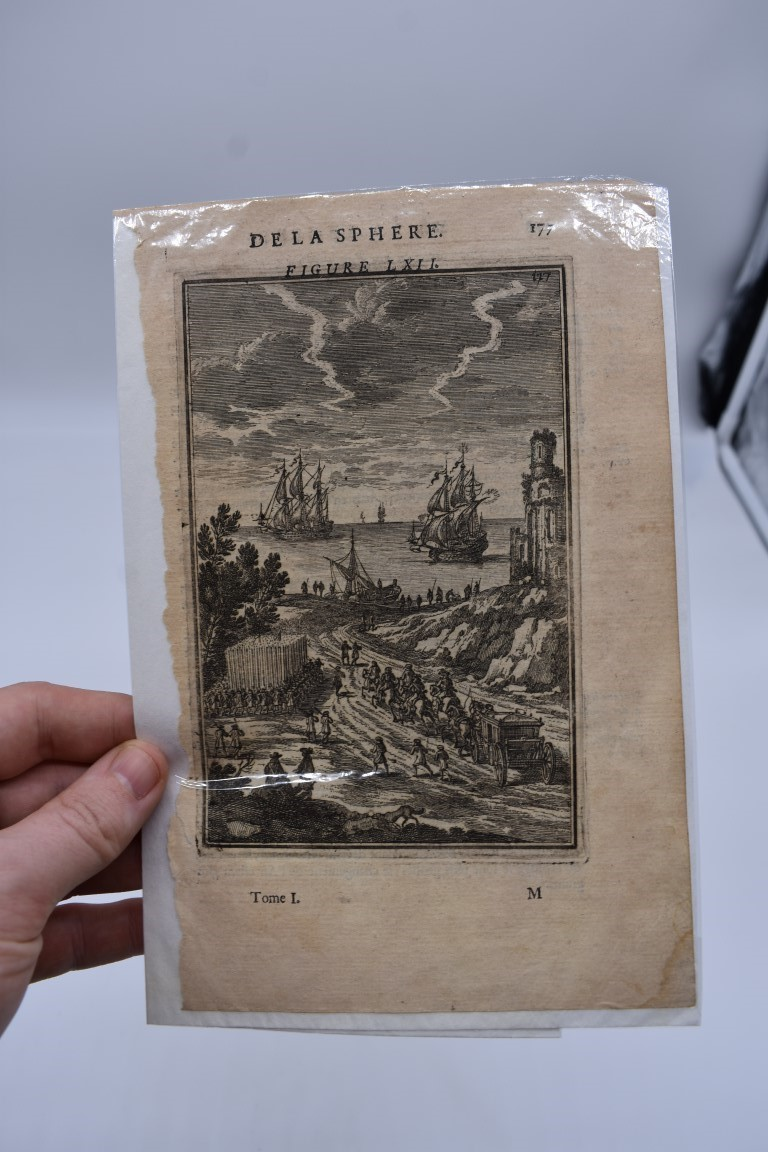 MARITIME PRINTS:collection of approx 20 maritime prints and engravings, largely 17th-18th - Image 4 of 22