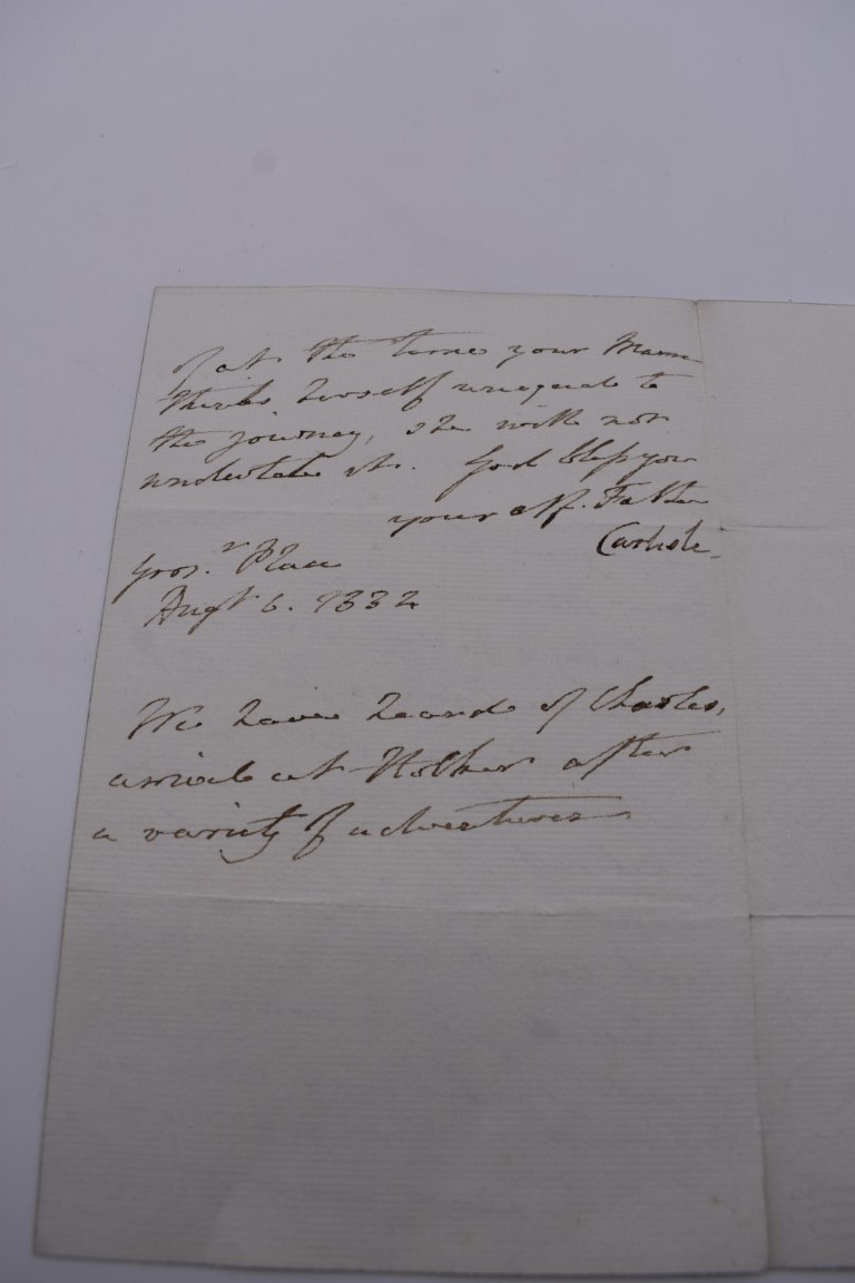 LETTERS, SIGNATURES, MANUSCRIPT MISCELLANY: a collection of over 45 items, largely 19th and early - Image 76 of 83