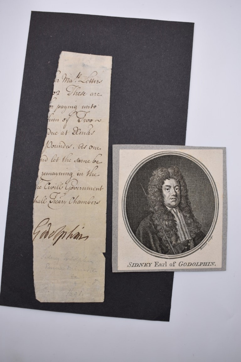 MANUSCRIPTS:collection of approx 15 items, 17th-early 19thc manuscripts, to include 2pp letter - Image 25 of 29
