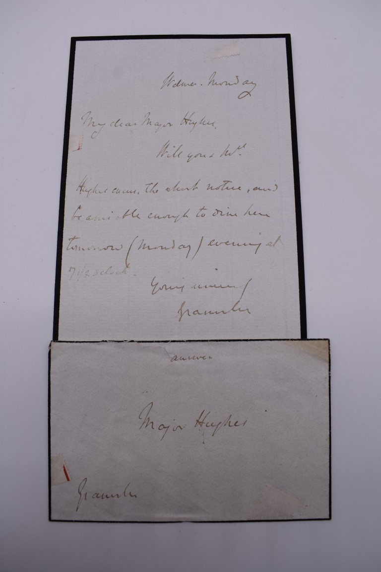LETTERS:a collection of 20 items, largely letters late 19th-earlier 20thc, to include short one - Image 8 of 26