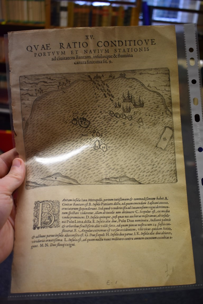 MAPS:collection of 11 miscellaneous maps, 17th-19th century, to include hand-coloured map of - Image 5 of 12