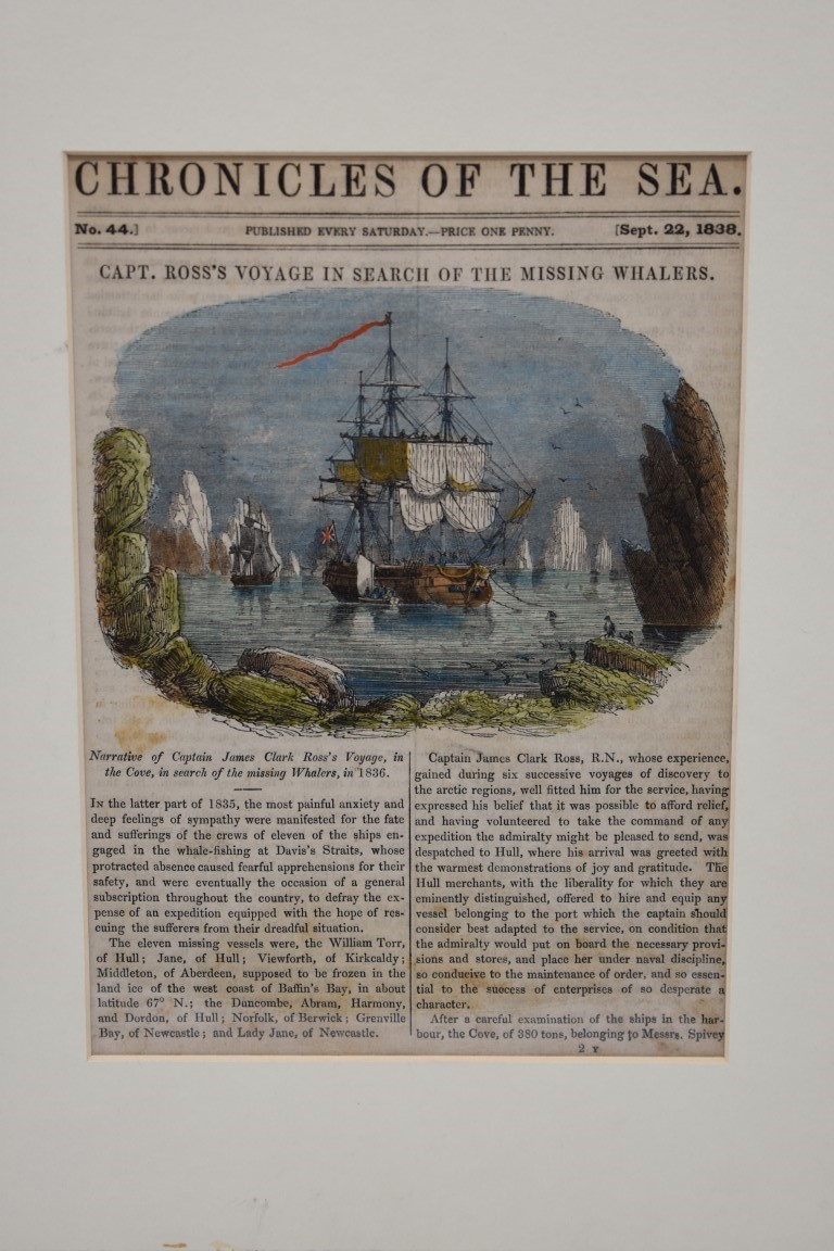 MARITIME PRINTS:collection of approx 61 maritime engravings and etchings, 18th-19th century, - Image 30 of 59