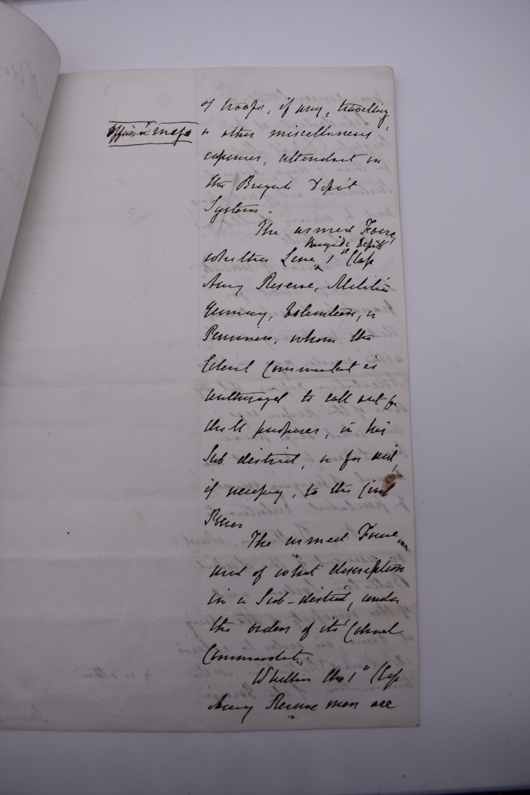 LETTERS, EARLY 19THC: collection of approx 20 ALS, largely early to mid 19thc, a few cropped or cut, - Image 10 of 33
