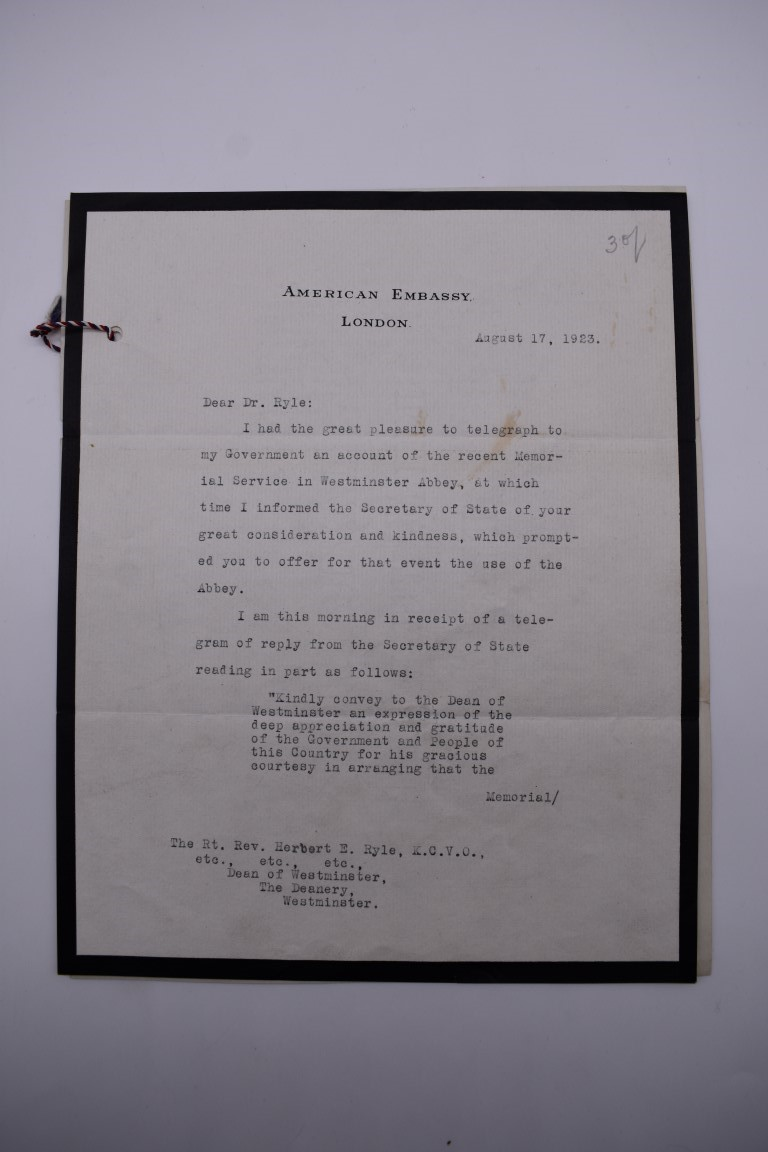 LETTERS:a collection of 20 items, largely letters late 19th-earlier 20thc, to include short one - Image 15 of 26