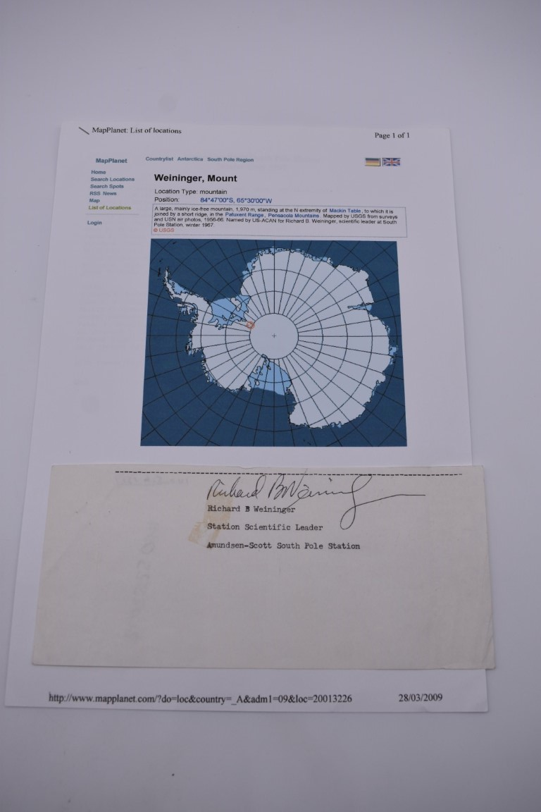 DOCUMENTS, LETTERS AND AUTOGRAPHS: collection of 5 items, to include: Approval of Disbursements of - Image 3 of 8