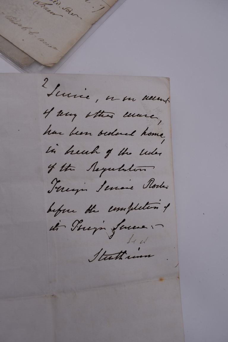 LETTERS, EARLY 19THC: collection of approx 20 ALS, largely early to mid 19thc, a few cropped or cut, - Image 12 of 33