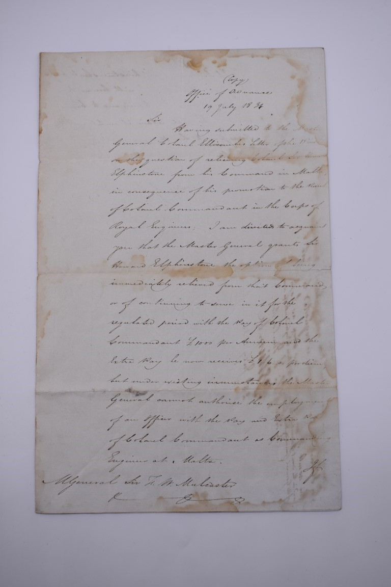 NAVAL AND MILITARY DOCUMENTS:group of 8 manuscript documents, to include printed form with - Image 15 of 21