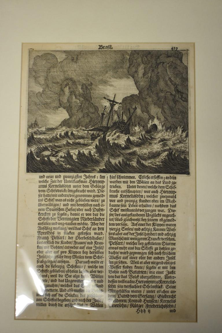 MARITIME ENGRAVINGS: SHIPWRECKS:collection of approx 50 prints and engravings, largely 18th-19th - Image 14 of 62