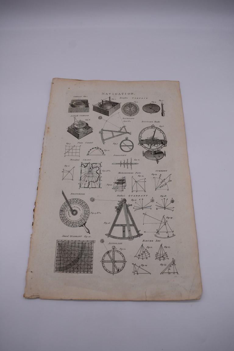 MARITIME PRINTS:collection of approx 61 maritime engravings and etchings, 18th-19th century, - Image 56 of 59