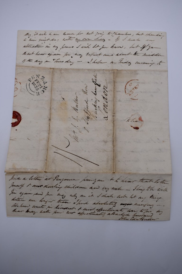 MANUSCRIPTS:collection of approx 15 items, 17th-early 19thc manuscripts, to include 2pp letter - Image 16 of 29