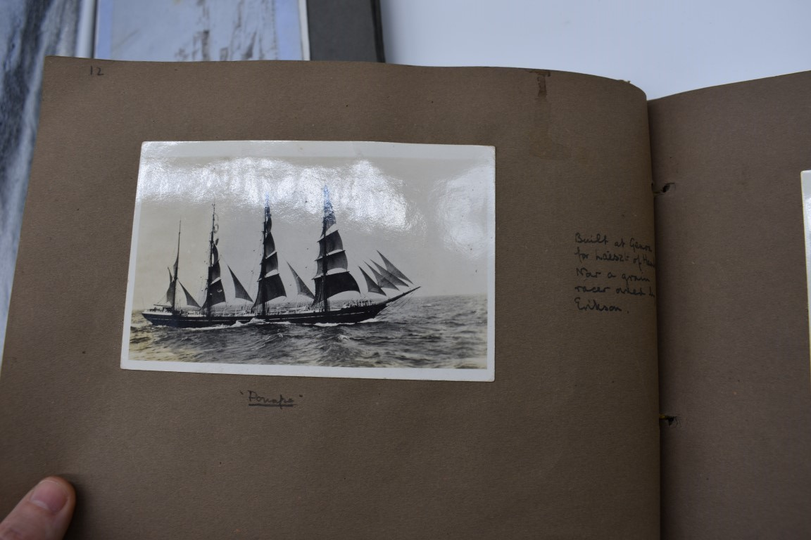 SCILLY ISLES:two early 20thc photographic snapshot albums of the Scilly Isles: together with mid- - Image 28 of 86