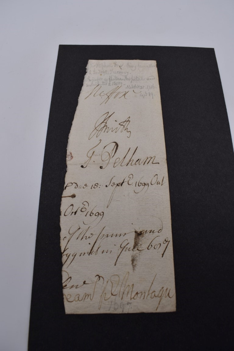 MANUSCRIPT MISCELLANY:a group of approx 27 items, largely 19thc ALS from nobility, churchmen, - Image 6 of 42