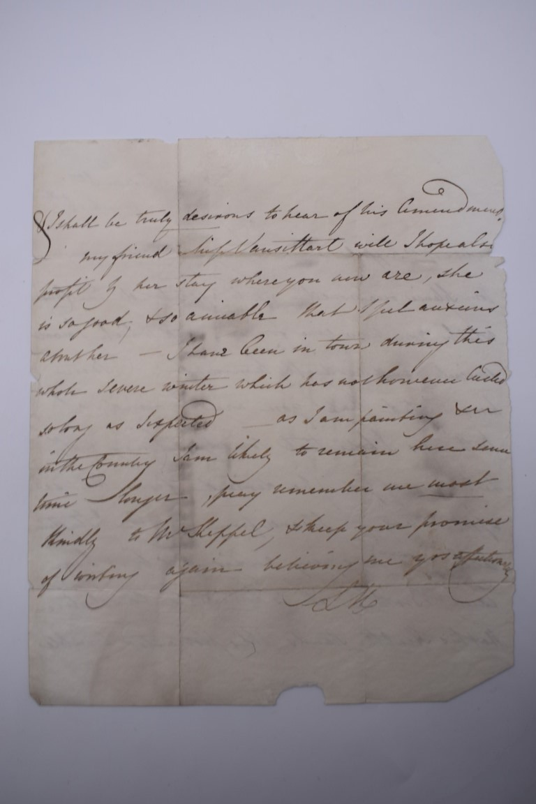 MANUSCRIPT MISCELLANY:collection of ALS and cut signatures, to include 2 side letter from conductor - Image 34 of 36
