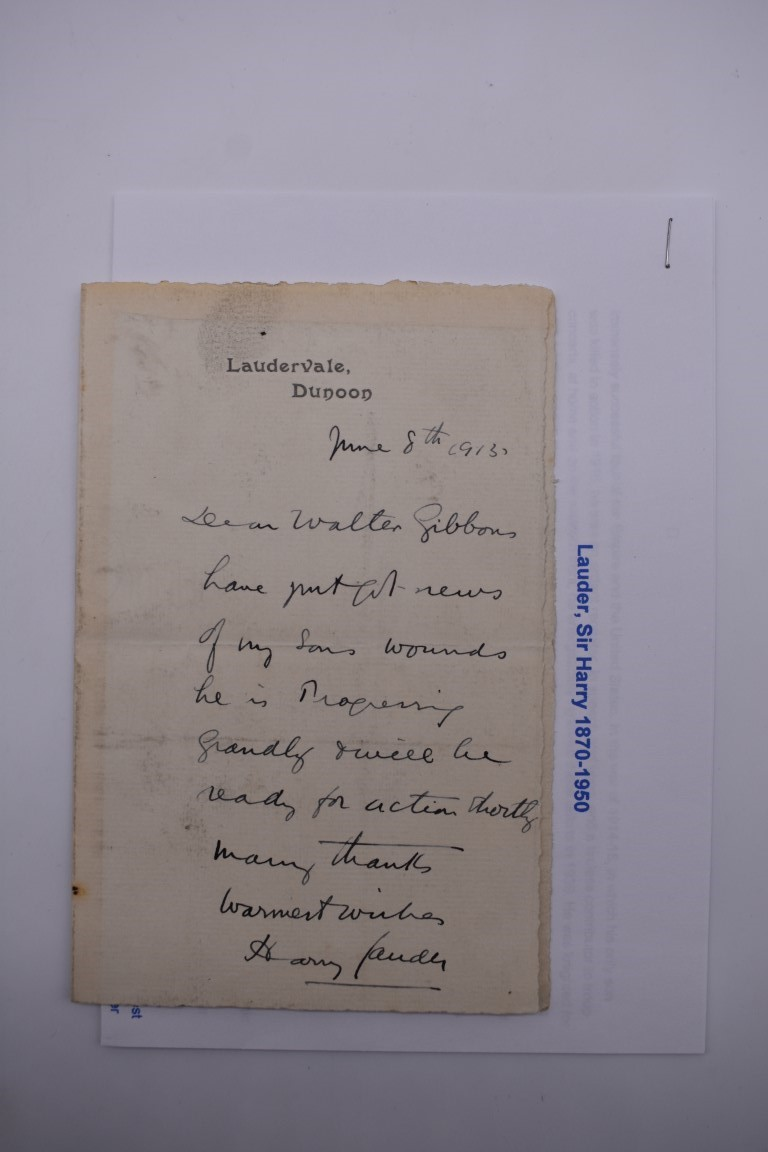 LETTERS:a collection of 20 items, largely letters late 19th-earlier 20thc, to include short one - Image 11 of 26