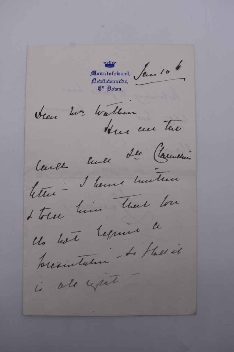 MANUSCRIPT MISCELLANY:collection of ALS and cut signatures, to include 2 side letter from conductor - Image 7 of 36