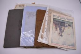 SCILLY ISLES:two early 20thc photographic snapshot albums of the Scilly Isles: together with mid-