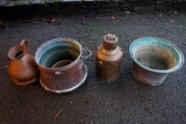 Four metalware items.Payment must be made in advance of collection which is strictly by
