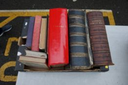 Three old family Bibles; together with a few misc. other books.Payment must be made in advance of