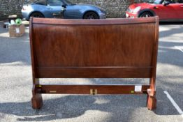 A Willis & Gambier 'Antoinette' double sleigh bed, 143cm wide x 116cm high.Collection of this lot is
