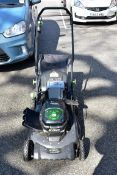 An EGO Power LM2010E 56v mower, with charger.Collection of this lot is strictly by appointment on