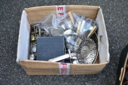 A quantity of silverplate.Collection of this lot is strictly by appointment on Saturday 17th April