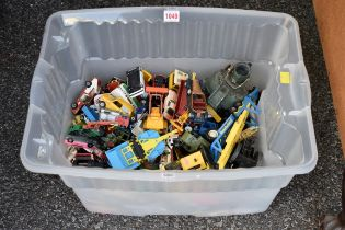 A quantity of diecast vehicles.