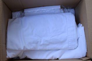 A quantity of linen.