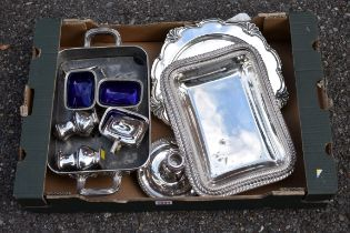 (LC) A quantity of silverplate.