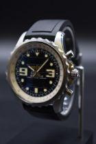 A circa 2011 Breitling Professional 'Chronospace' stainless steel quartz wristwatch,RefA78365,