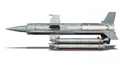 A rare SA-4 'Ganef' missile
