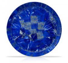 A Lapis Lazuli veneered platter