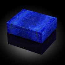 A Lapis Lazuli veneered box