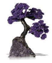 An Amethyst tree modern