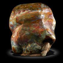 A massive Tiffany jasper specimen Madagascar 45cm high by 61cm wide by 53cm deep, approx 350kg