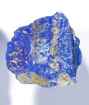 A rough Lapis Lazuli freeform