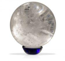 A quartz sphere