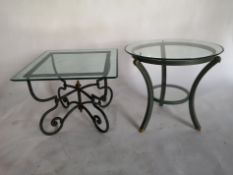 A similar occasional table by Pierre Vandel of Paris