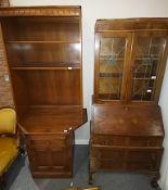 Bureau Bookcase, Vict Pictures & Display Cabinet