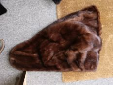 Fur Coats stoles etc inc fur coat by AE Sang Furriers to the Royal Court