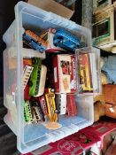 Collection of toys (buses)