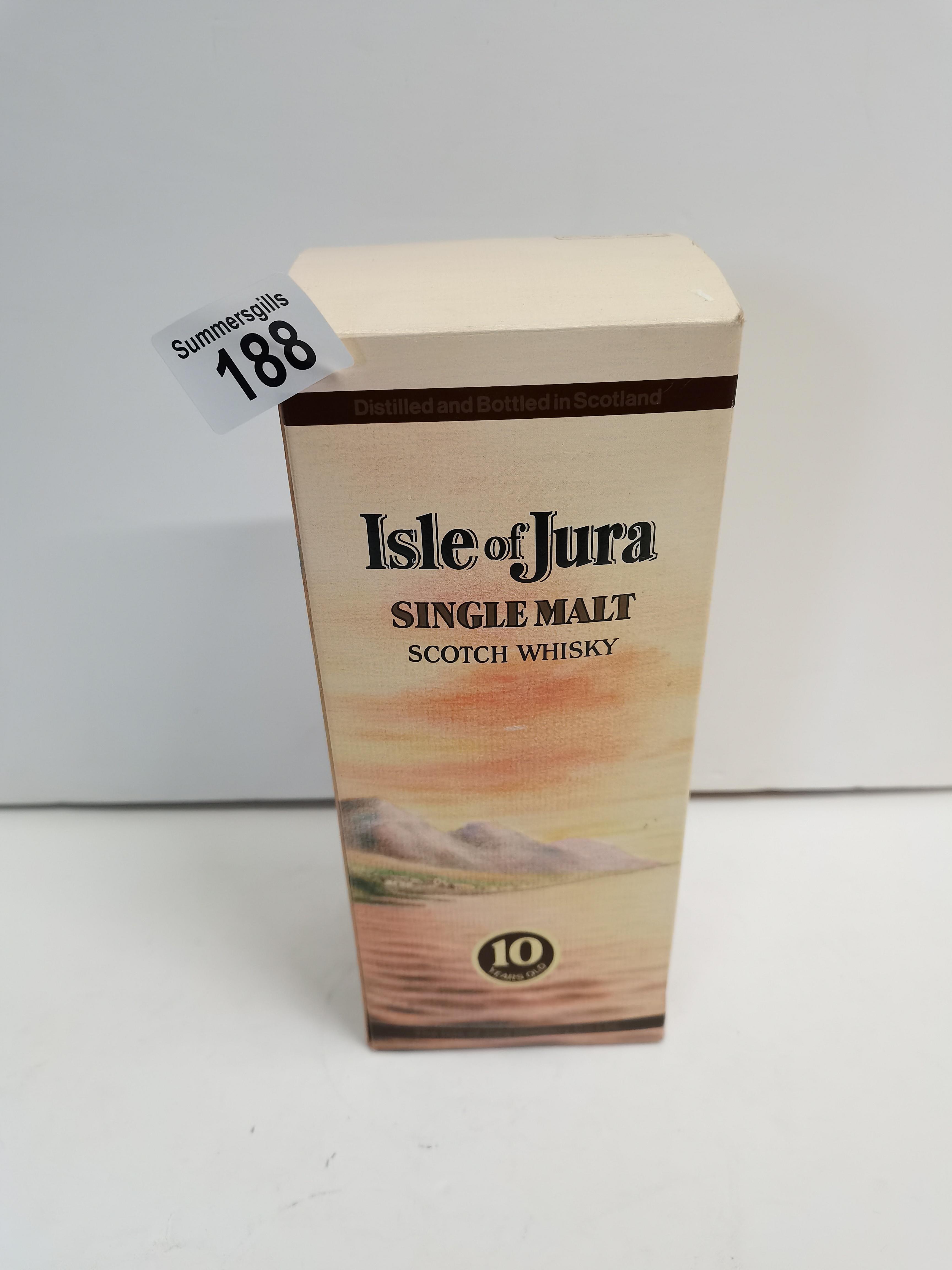 Isle of Jura Single Malt Scotch Whiskey Bottled in 1980s