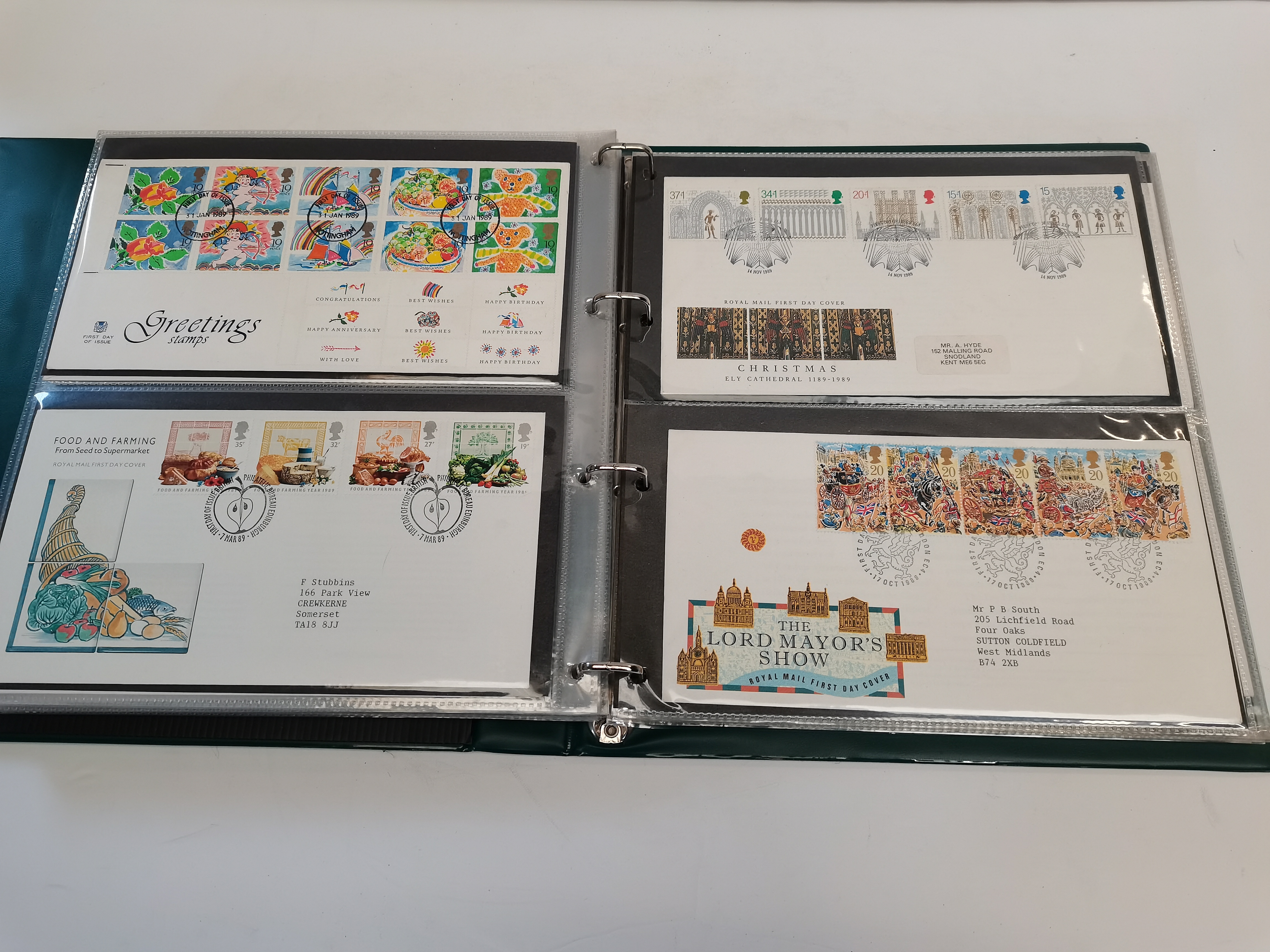 8 ringbinders of First day cover stamps - Image 4 of 4
