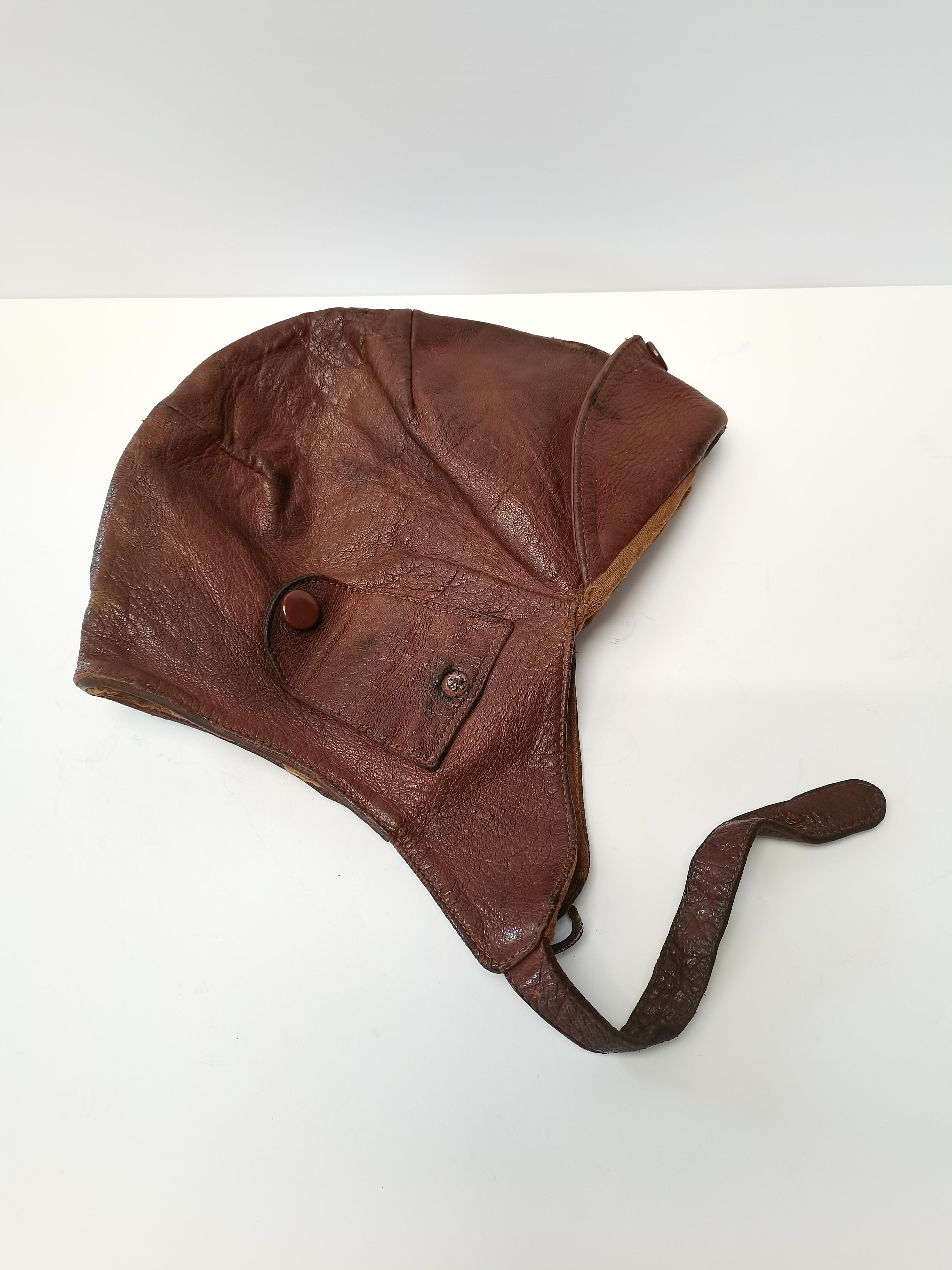 Vintage original flying helmet - Image 2 of 3